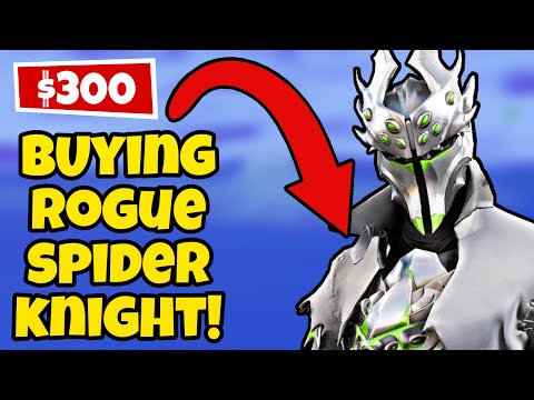 Buying Rogue Spider Knight! ($300 Xbox Exclusive) - Fortnite: Chapter 2