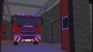 ROBLOX Incendie et Service de Sauvetage - Bande-annonce courte