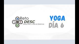 SABADO - Día 6 - Yoga