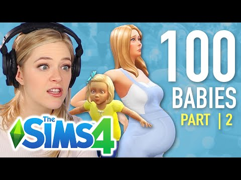 Single Girl Raises Her First Child In The Sims 4 | Part 2