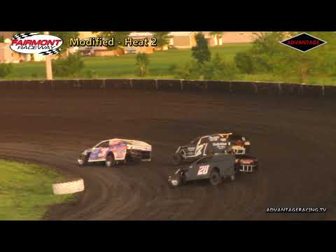 Modified Heats - Fairmont Raceway - 6/8/18
