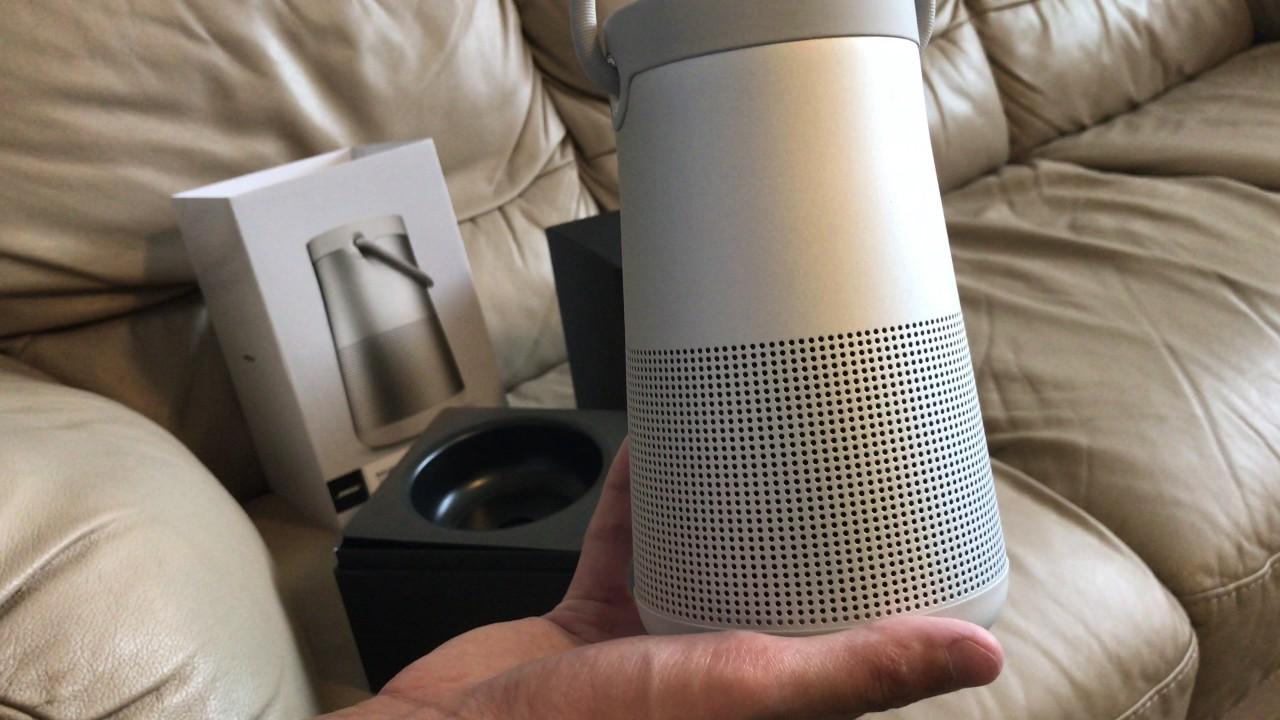Bose SoundLink Revolve + Lux Grey Unboxing - YouTube