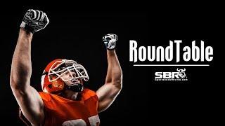 Week 8 College Football Picks and Predictions + Week 7 Free NFL Picks | SBR Roundtable