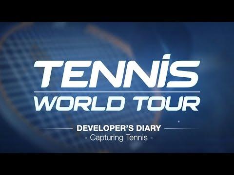 Tennis World Tour - Developer Diary - Capturing Tennis [ESRB]