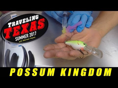 Possum Kingdom: Traveling Texas Summer 2017: Camping, Fishing And The Removal Of A Fishing Hook !