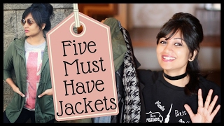Five must have jackets in every girl