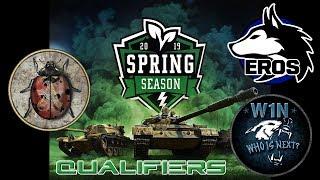 World of Tanks Blitz - Spring Season Tournament - Qualifiers - EROS vs -W1N-