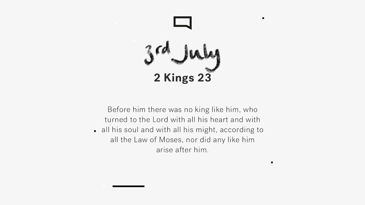 Daily Devotion with Steve Walford // 2 Kings 22 - 23 Cover Image