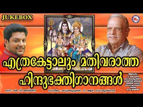 എത്രകേട്ടാലും മതിവരാത്ത ഹിന്ദുഭക്തിഗാനങ്ങൾ   Hindu Devotional Songs Malayalam   Hindu Bhakthi Ganam