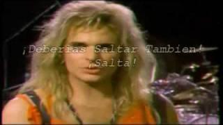 Van Halen - Jump (Subtitulada [Español])