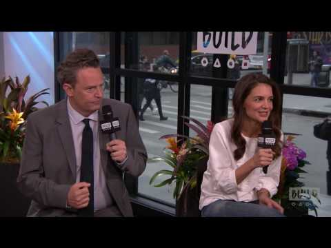 "Matthew Perry And Katie Holmes On ""The Kennedys: After Camelot"" 