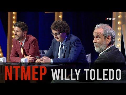 Entrevista a Willy Toledo, el prófugo de la justicia #NTMEP
