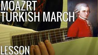 MOZART - Turkish March - Guitar Lesson