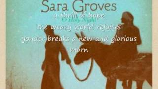 Watch Sara Groves O Holy Night video