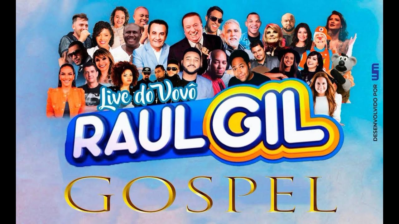 LIVE GOSPEL no canal do Vovô Raul Gil - IMPERD�VEL!!