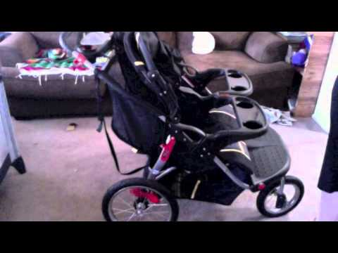 baby trend navigator double jogging stroller review