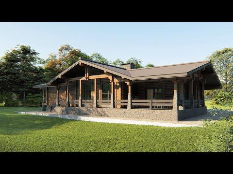 Проект дома Сизаль в стиле шале 14 на 18 до 300 м²