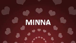 HAPPY BIRTHDAY MINNA