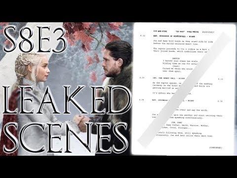 Season 8 Episode 3 Leaked Scenes ! | Game of Thrones Season 8 Leaked Script