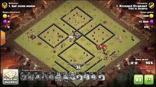 Clash of Clans - Mostrando um pouco das Ligas de Guerras de Clãs no This is Sparta...