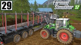 Praca w lesie - Farming Simulator 17 (#29) | gameplay pl