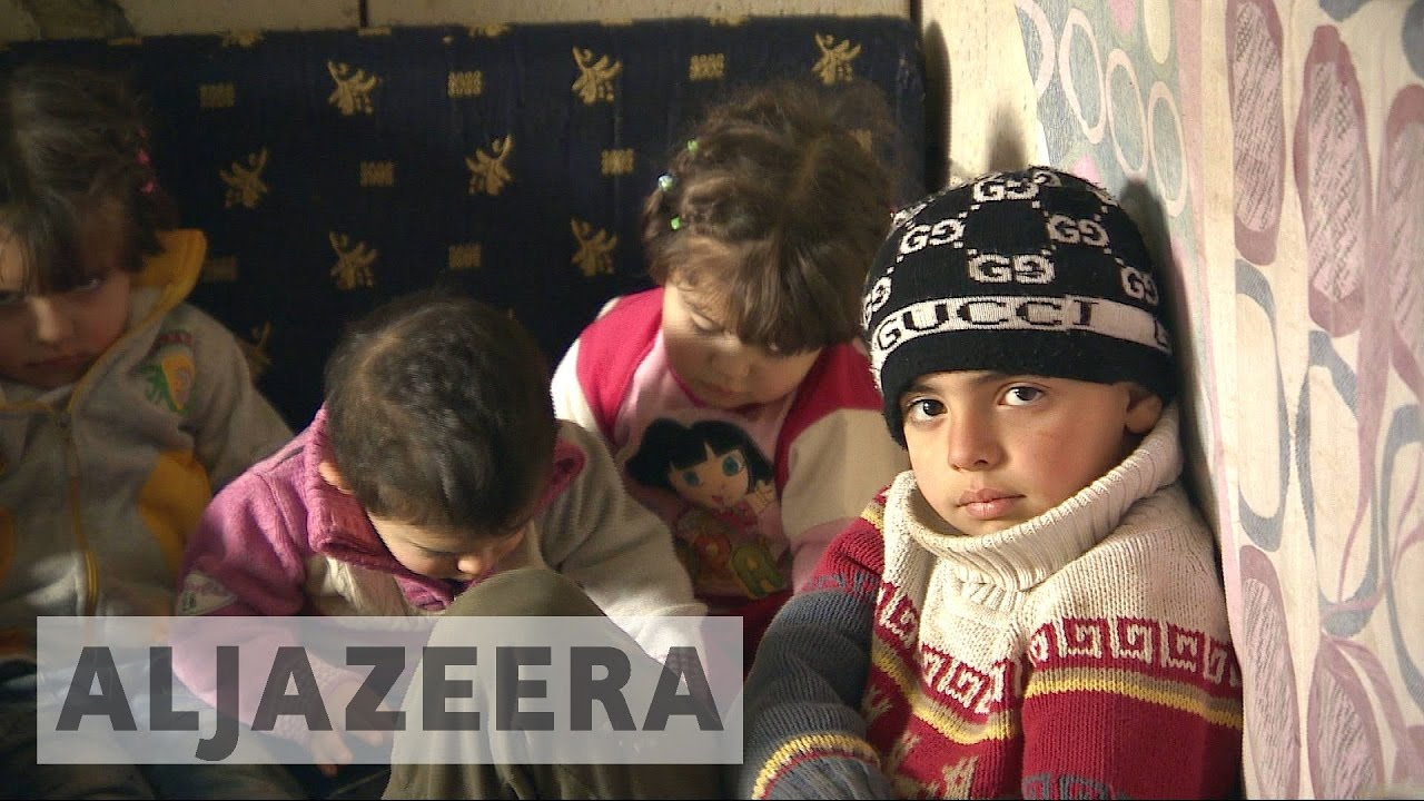 Syrian refugees in Lebanon face the wrath of winter