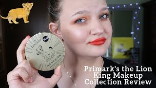 Primark's the Lion King Makeup Collection Review - haleylynn1615