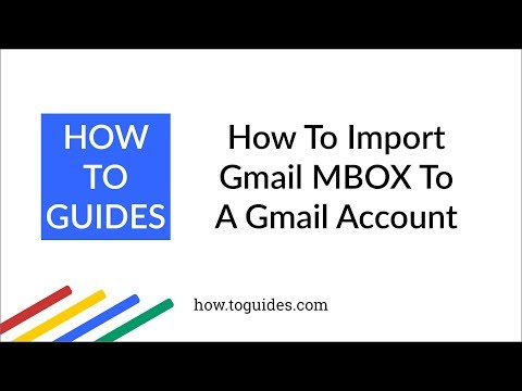 How to Import Gmail MBOX to Same or Another Gmail With Label