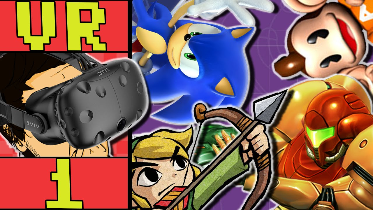 Dolphin VR Gamecube HTC Vive | Zelda Wind Waker | Metroid Prime | Sonic  Adventure 2 | Monkey Ball