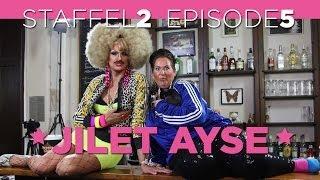 Staffel 2 / Episode 5 - Comedian und BILD Bloggerin JILET AYSE bei THEKENSCHLAMPE TV