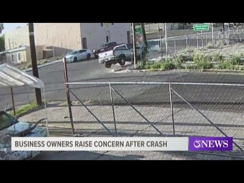 Business owners raise concern at Staples Street following accident