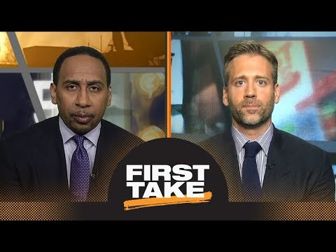 Stephen A. and Max react to Celtics defeating 76ers in Game 1 | First Take | ESPN