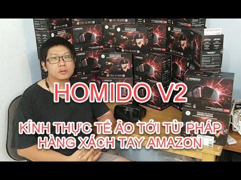 Homido V2 xách tay Amazon đã có hàng tại VRTECH Shop sẵn sàng đón Tết Nguyên đán Canh Tý (2020)
