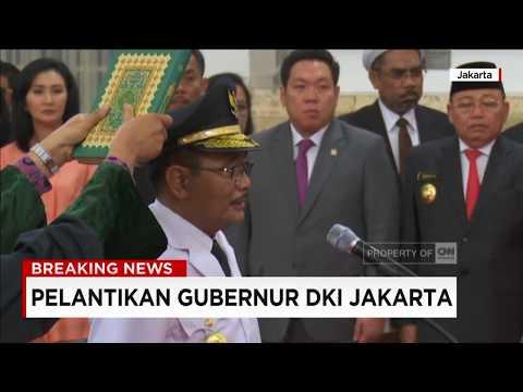 Resmi! Djarot Gantikan Ahok Jadi Gubernur DKI Jakarta