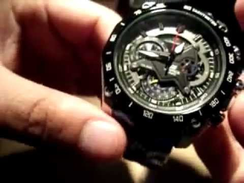 6193e8a0fc48 CASIO EF-550RBSP RED BULL RACING EDITION LIMITED - YouTube