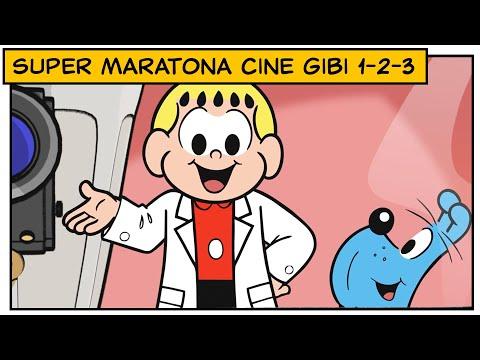🎥 Super Maratona Cine Gibi 1,2 e 3 | Turma da Mônica