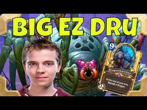 Thijs with a BIG EZ druid (The Boomsday project)