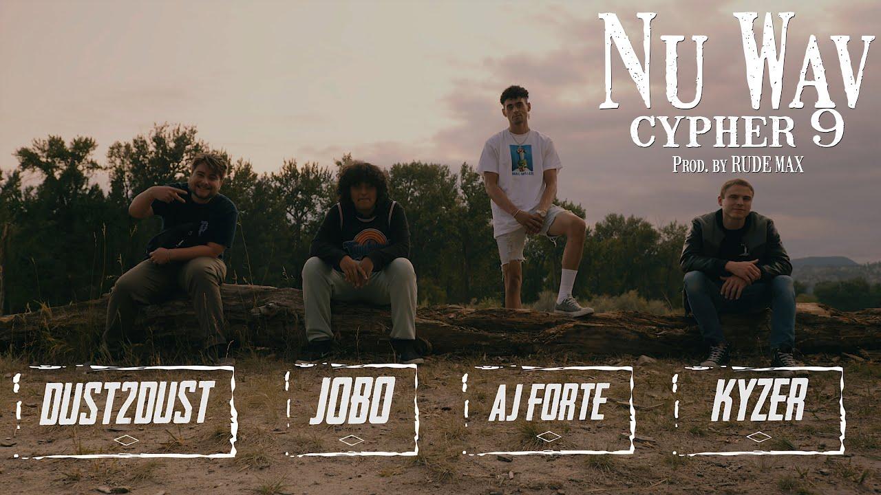 Nu Wav Cypher 9 - AJ Forte, Kyzer, Dust2Dust, Jobo (Prod. by Rude Max) [Live Take]