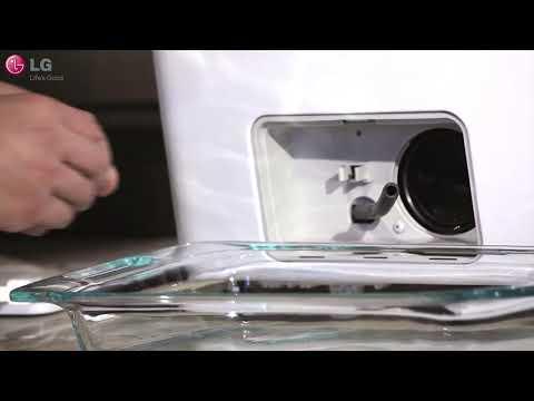 إل جي – تنظيف فلتر مضخة الغسالة   -   LG Washer- Drain Pump Filter Cleaning