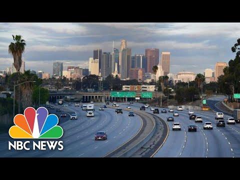 Los Angeles County Gives Coronavirus Update | NBC News
