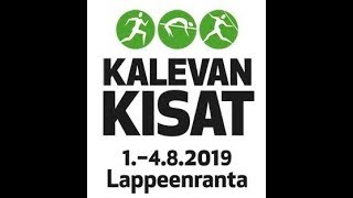Kalevan kisat 2019  SM-hopeaa
