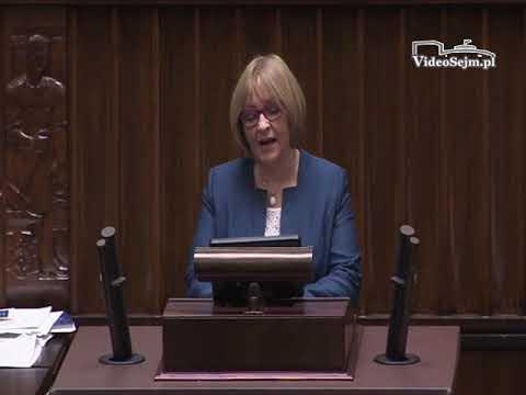 Barbara Bartuś – wystąpienie z 22 listopada 2017 r.