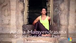 How To: Ardha Matsyendrasana (Sitting Half Spinal Twist)