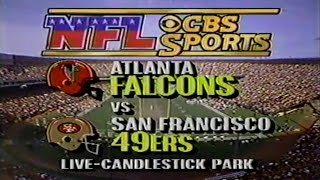 1987 Week 15 Atlanta Falcons at San Francisco 49ers