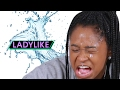 Women Try The Ice Water Makeup Hack • Ladylike