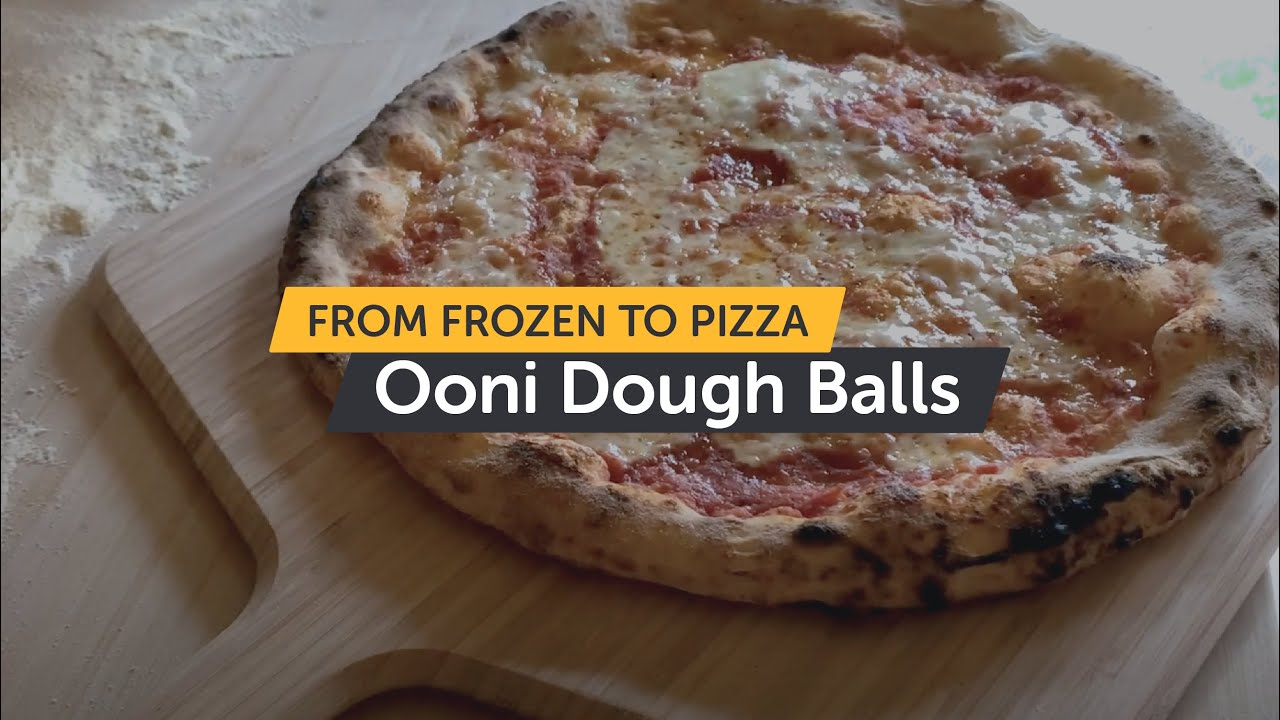 Sourdough Frozen Pizza Dough - From Frozen To Pizza | Ooni Food Range