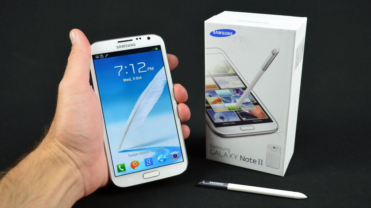 Samsung Galaxy Note II: Unboxing & Review - YouTube
