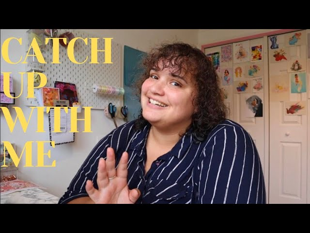 The catch up with me vlog - Studio tour, joining Patreon and releasing the Autumn Leaves collection
