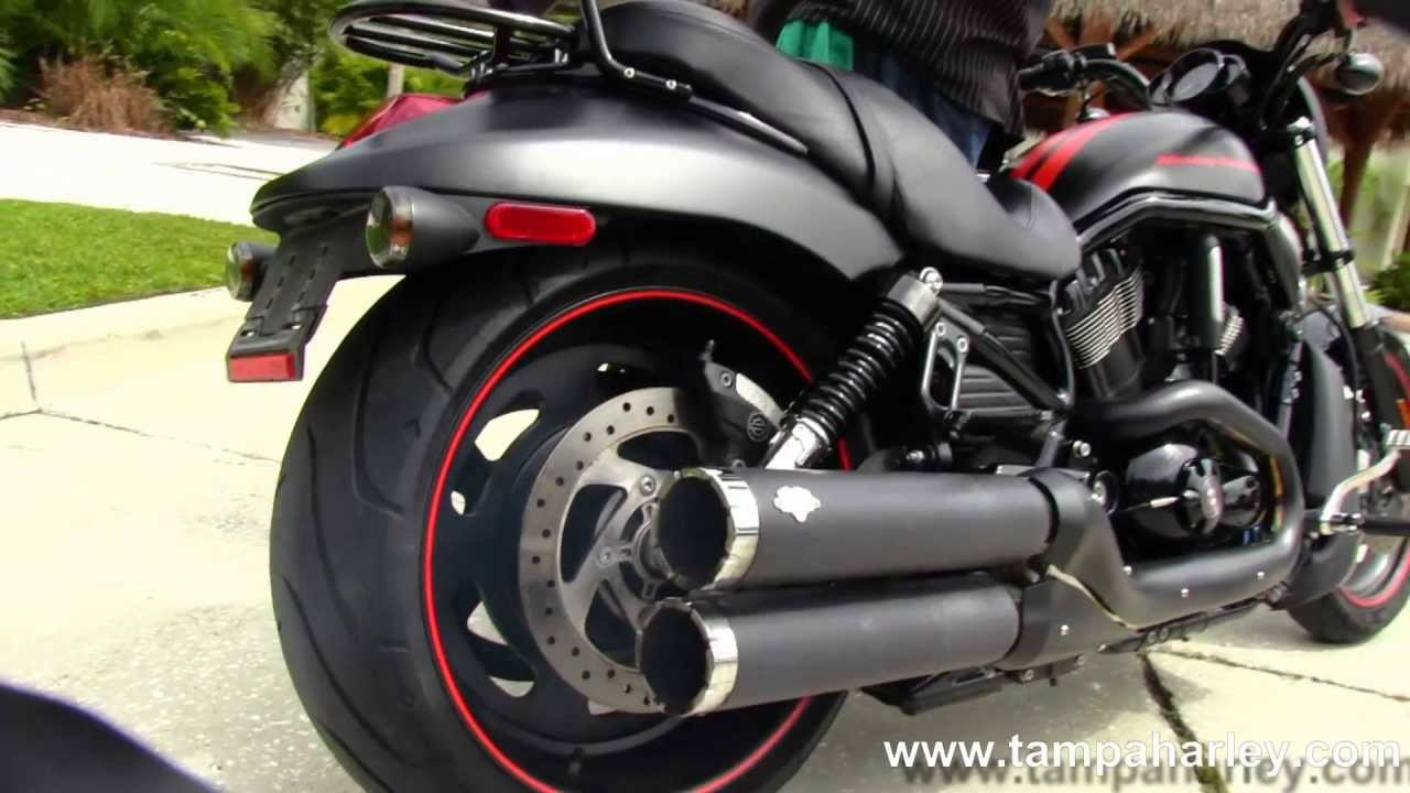 Panama City Harley Davidson >> Used 2011 Harley-Davidson VRSCDX Night Rod Special with Vance & Hines Exhaust - YouTube