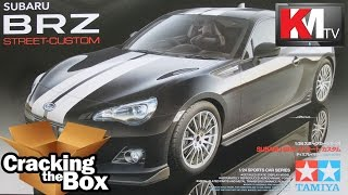 Unboxing Tamiya's New Subaru BRZ Street Custom (1/24)